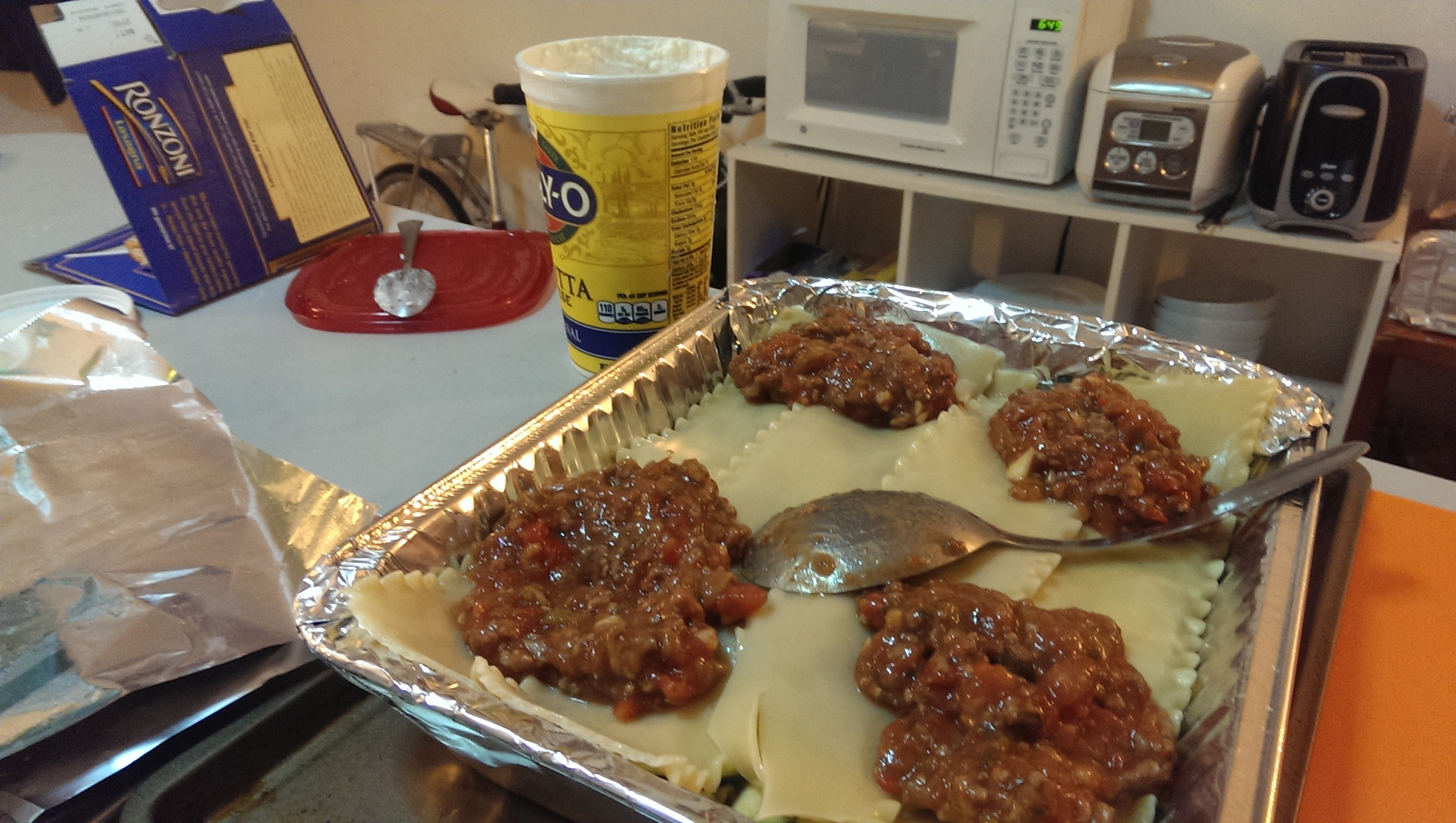 lasagne setup 3