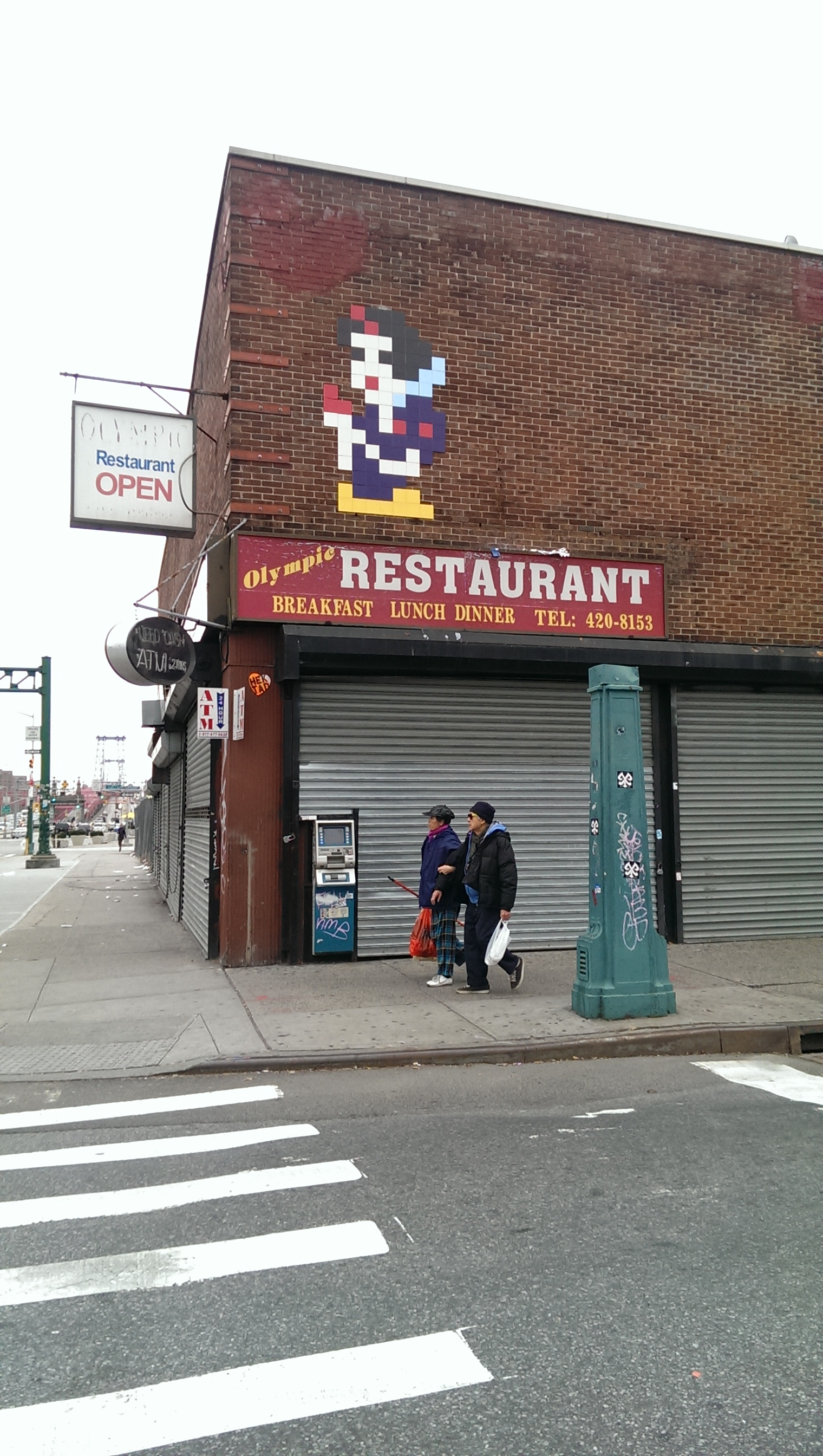 lower east side eating snow white