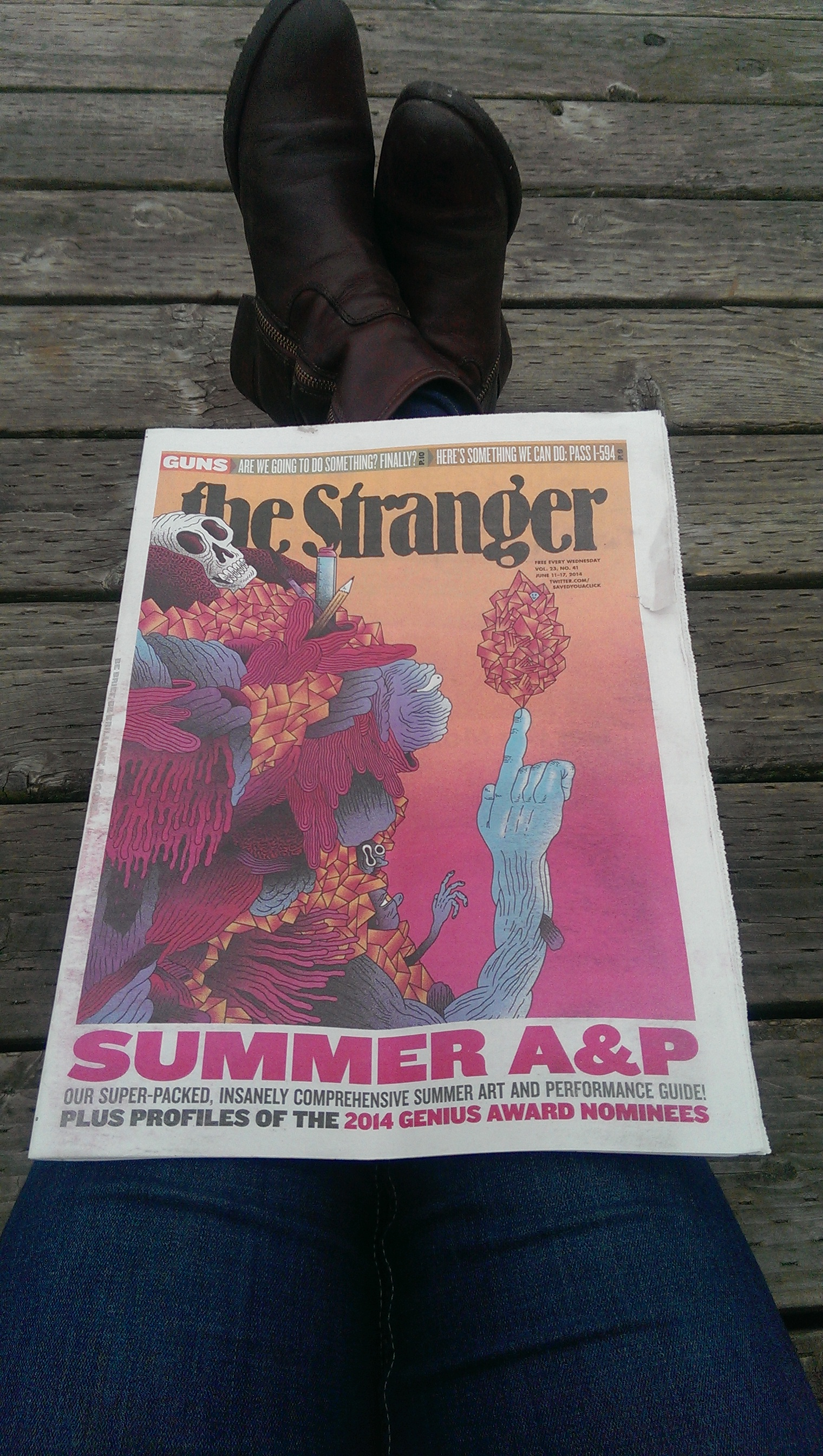 05 - The Stranger local paper