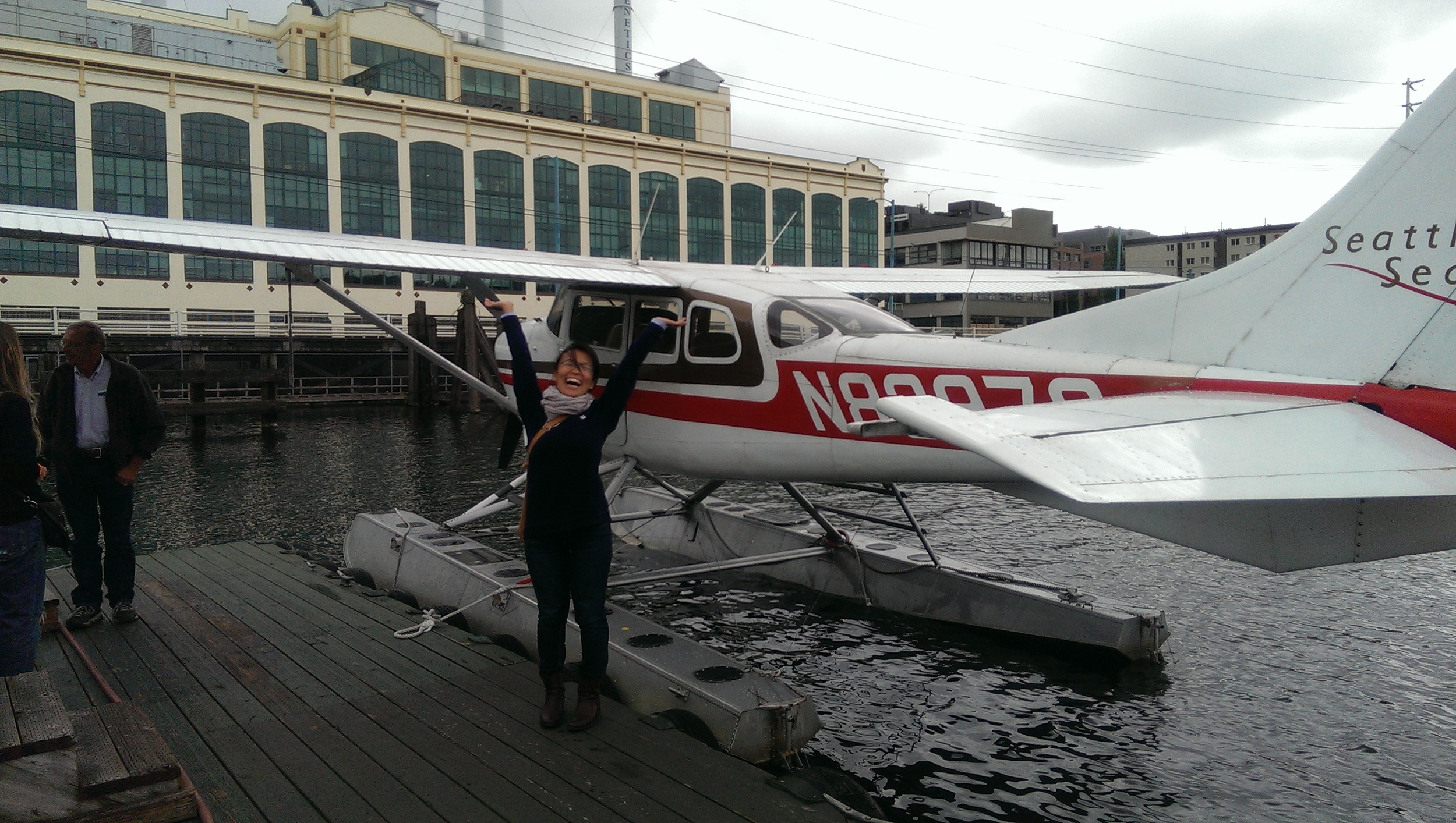10 - Yay! at Seattle Seaplanes