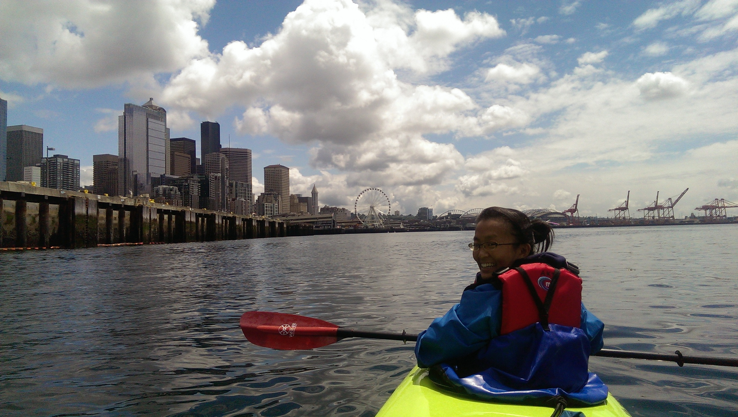 33 - Kayaking in Elliot Bay
