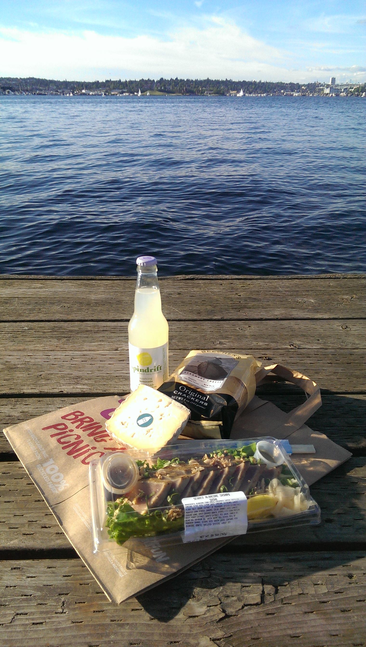 37 - Whole Foods picnic on South Lake Union