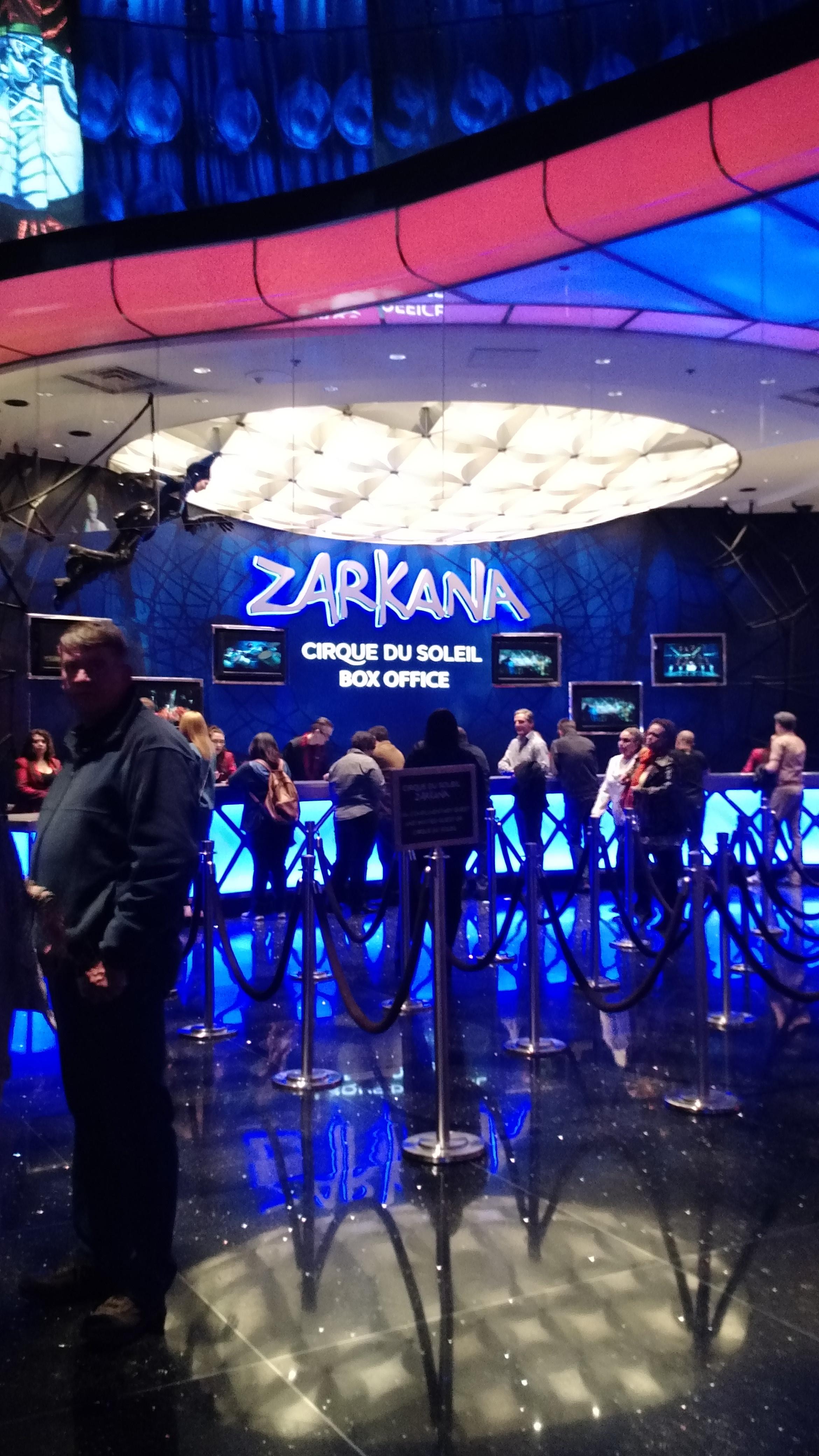 DAY 3 EVENING CIRQUE DU SOLEIL ZARKANA 1