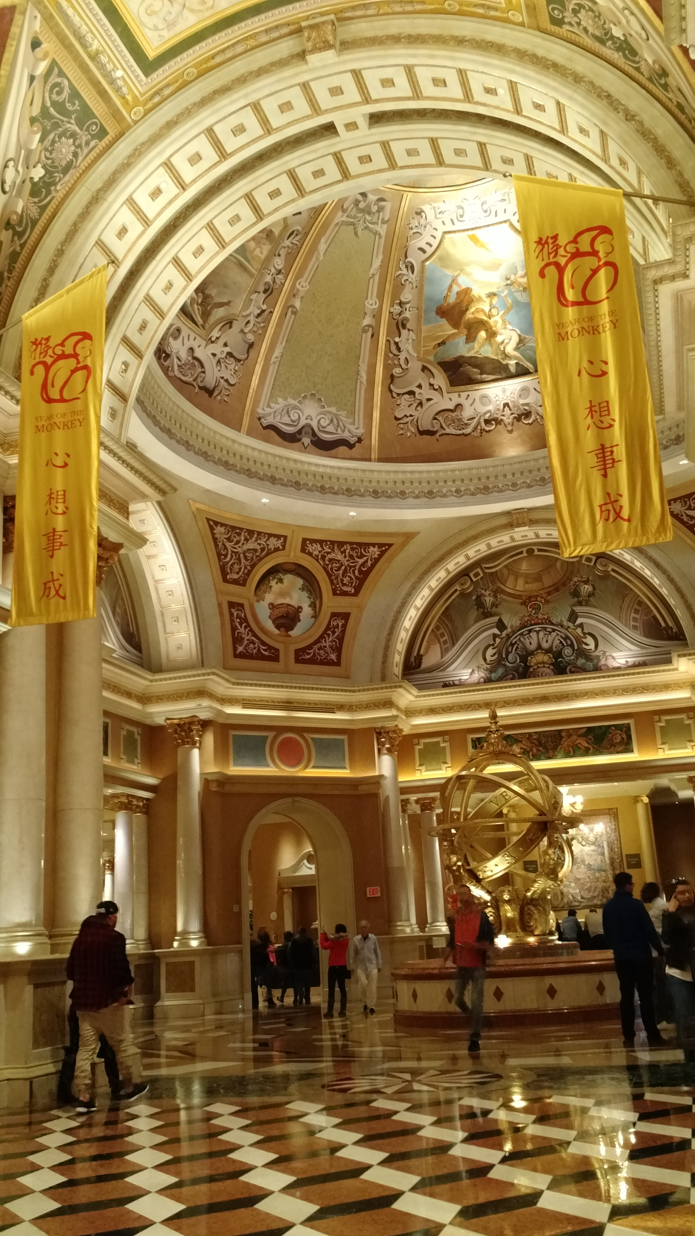 DAY 4 WALK VENETIAN HOTEL CHINESE NEW YEAR