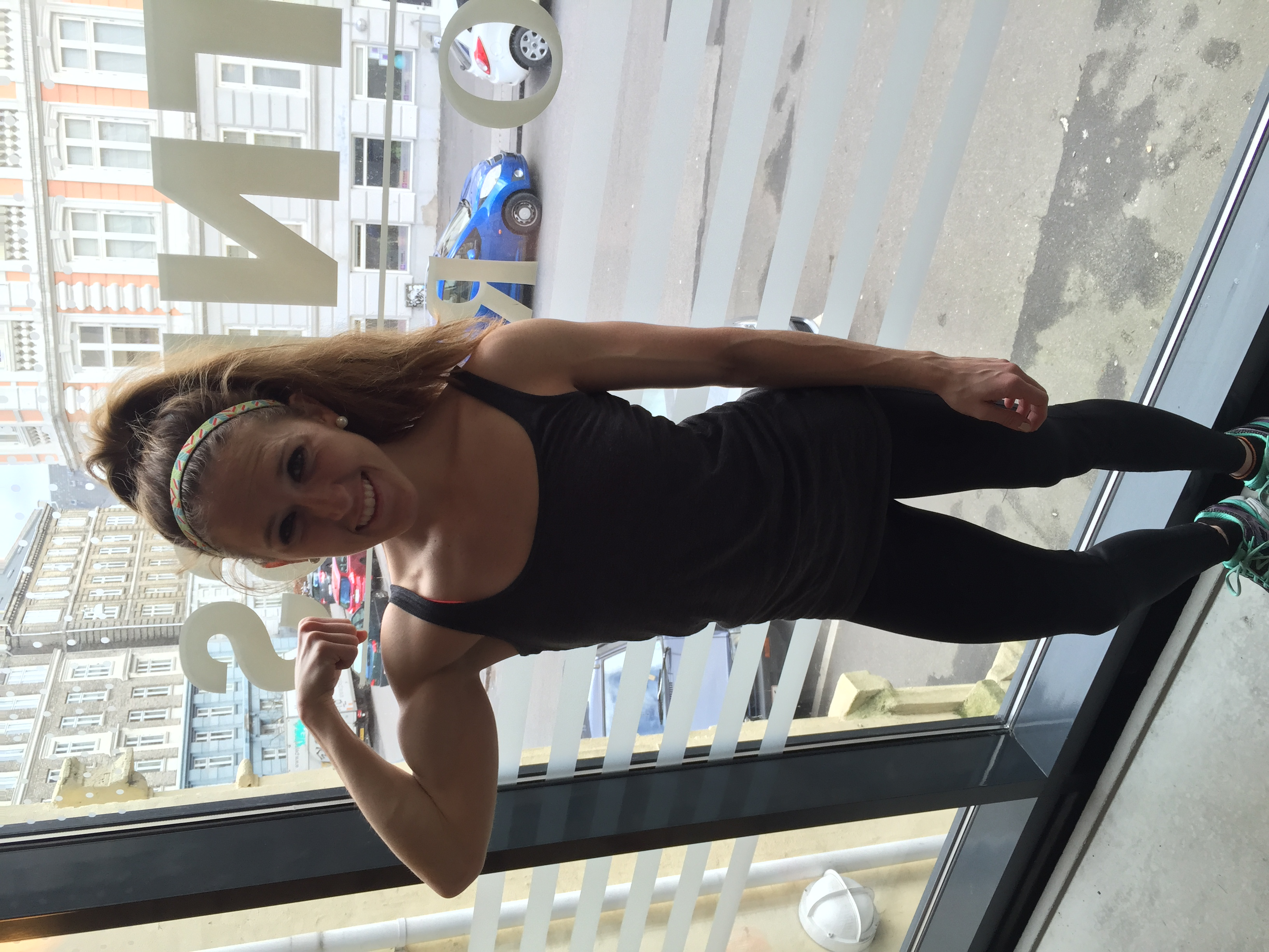 Lifting session at Fitness World in Copenhagen!
