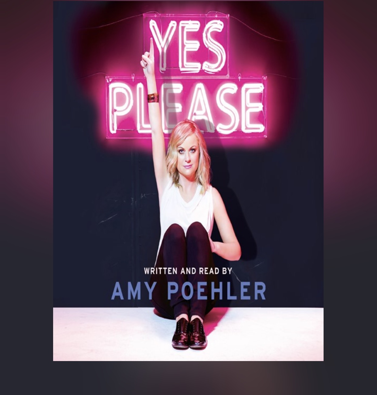 So I've listened to Amy Poehler's, Tiny Fey's, Amy Schumer, and Anna Kendricks and I have to say that Amy's is not the best (Poehler). Bless her-she says a million times in the book she hates writing so maybe she shouldn't do what she hates? Amy Schumer says she LOVED it and hers was better. PASSION SHOWS UP IN EVERYTHING!