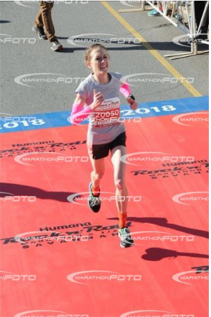 This is the finish line, but I don't want all the photos at the end haha.
