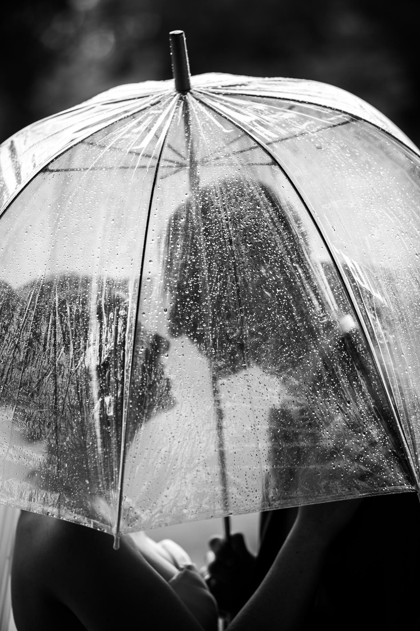 Mariage sous la pluie en région centre