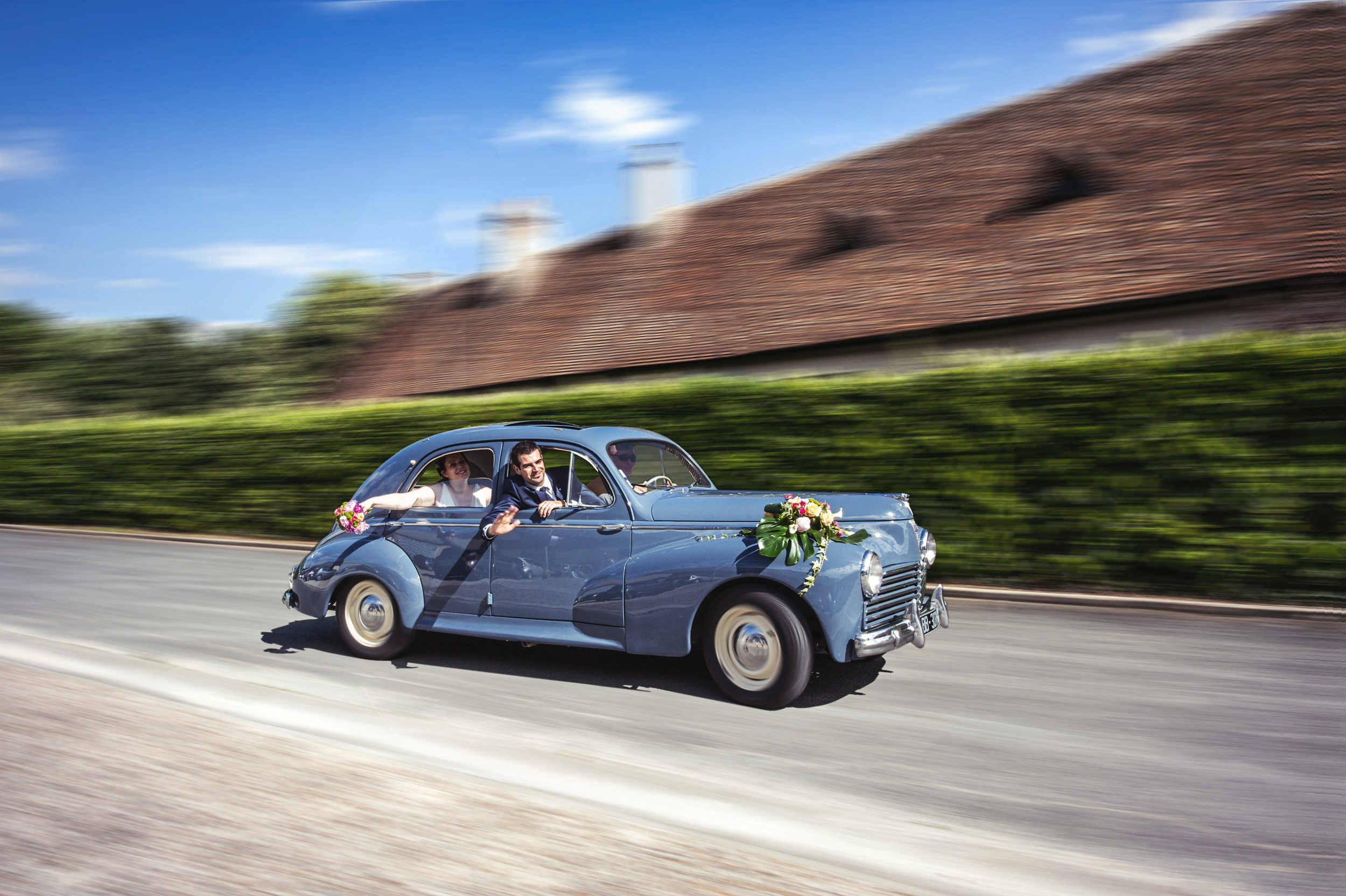 Mariage voiture ancienne