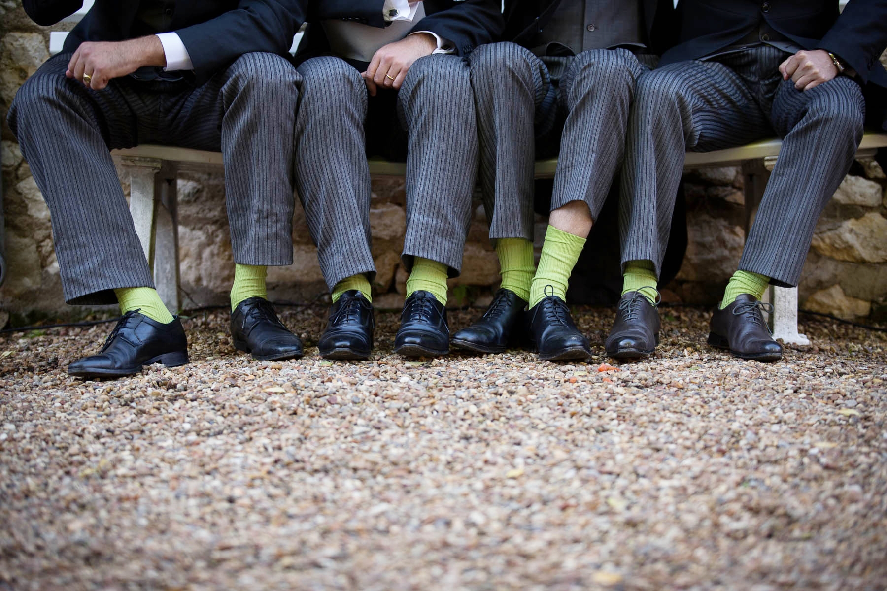 Mariage Chaussette