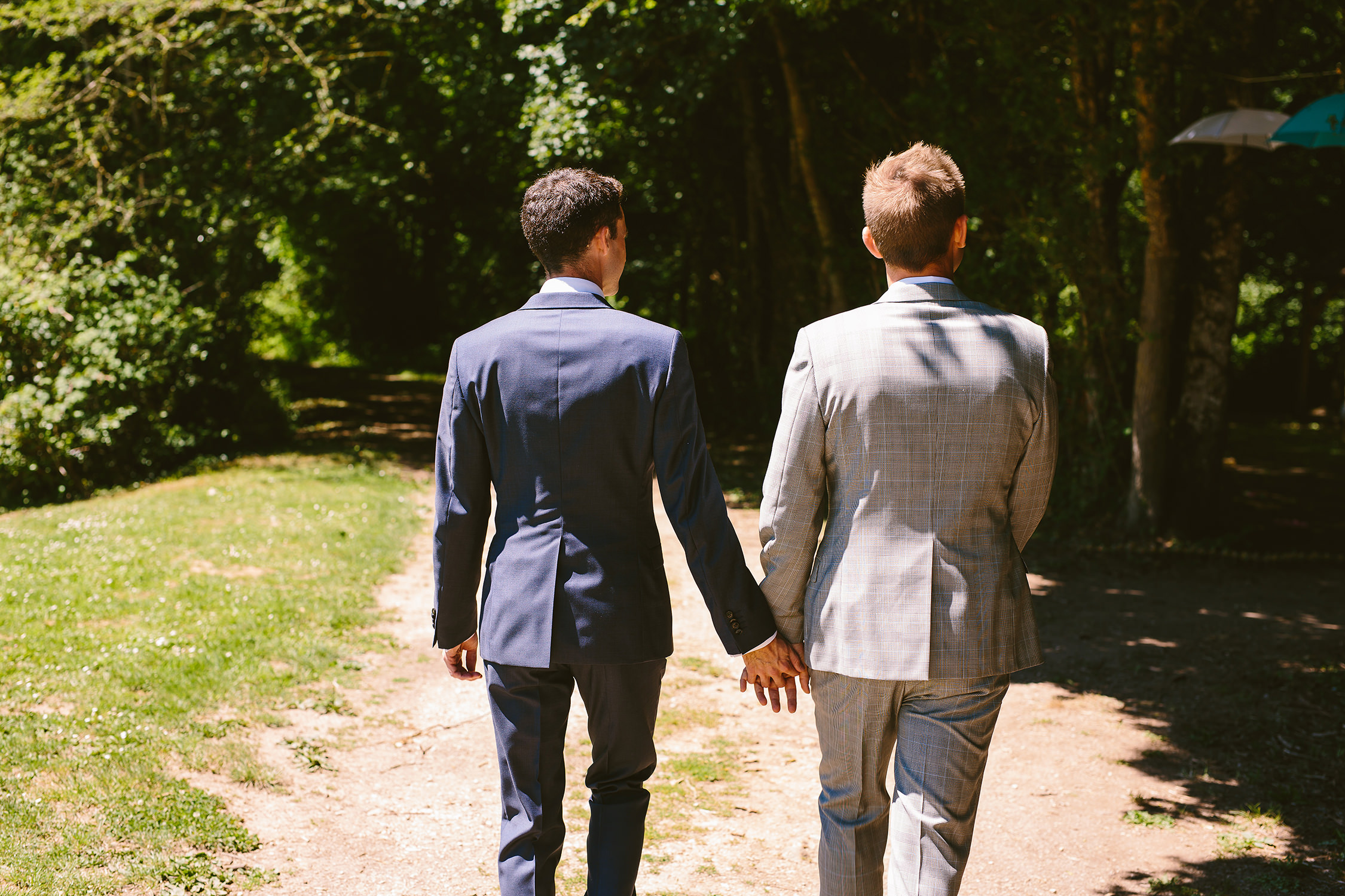 Couple LGBT mariage