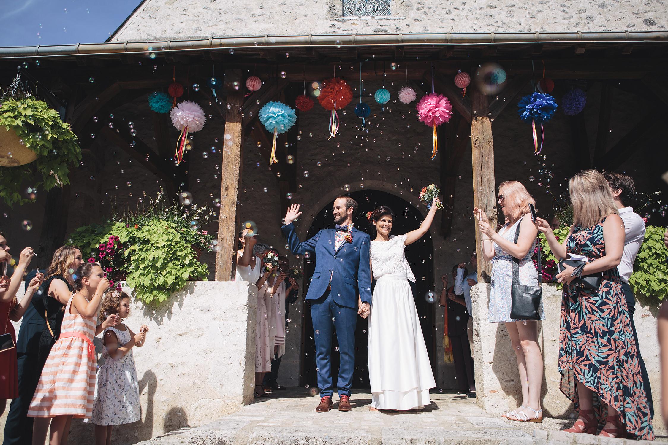 Mariage à l'église de Huisseau sur Cosson