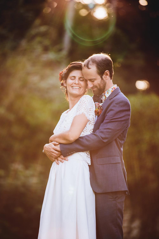 Photo de couple au chateau de Villesavin