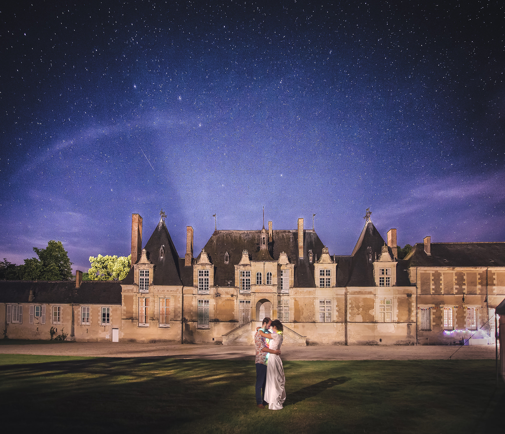Chateau de Villesavin lors d'un mariage
