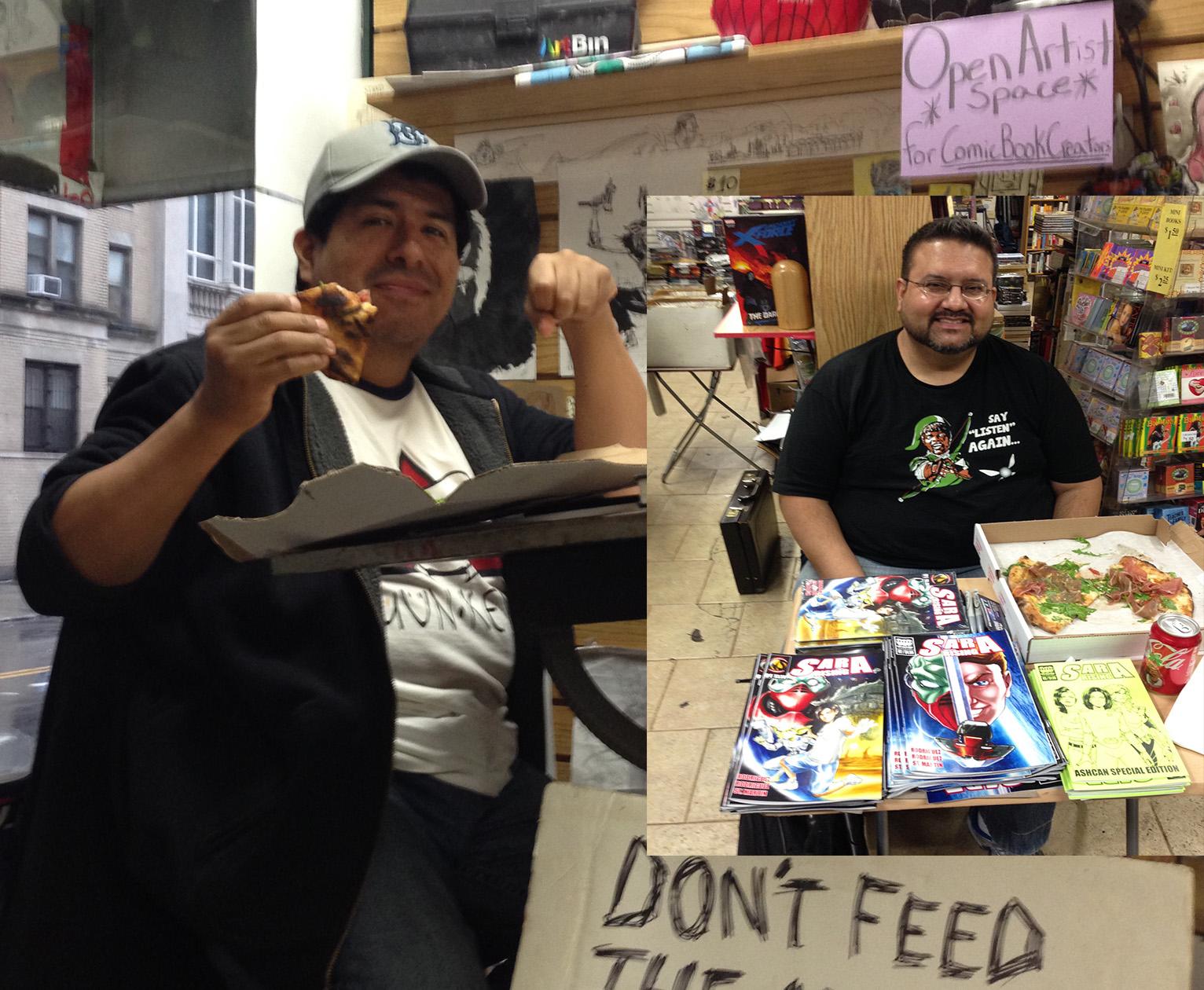 Carmine Street Comics Signing