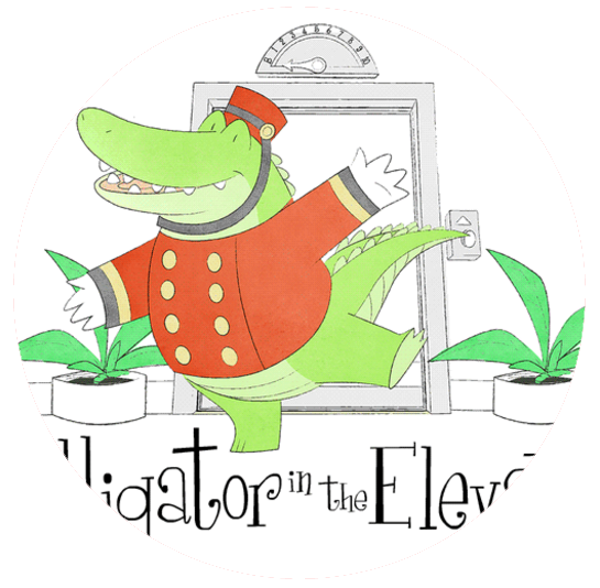 alligator-splash