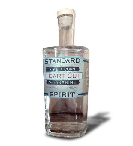 Standard Spirit Rye & Corn Heart Cut Moonshine  // Mash & Grape
