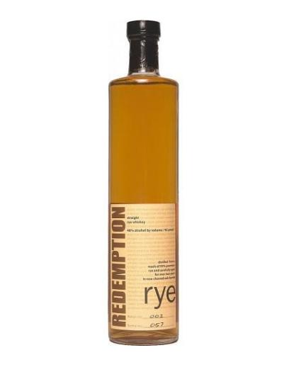 Redemption Rye  // Mash & Grape