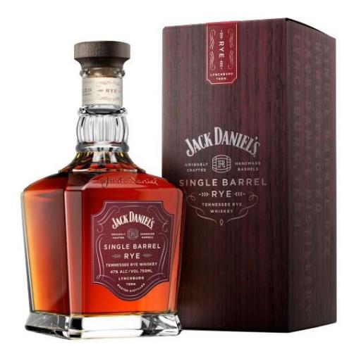 Jack Daniel's Select Single Barrel Rye  // Mash & Grape