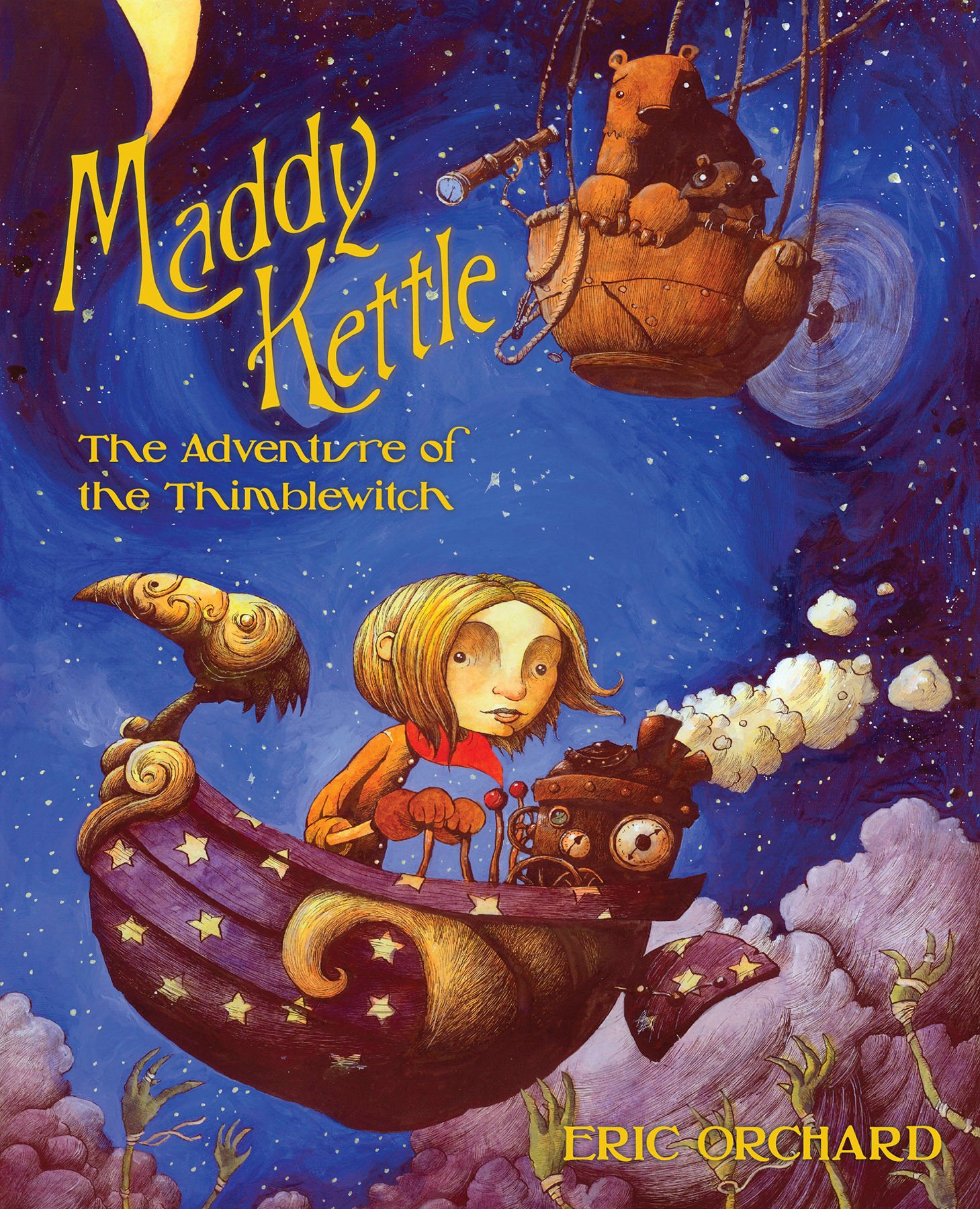 """""""Maddy Kettle... looks fantastic: every panel exudes quirky, gorgeous atmosphere."""" —NPR"""