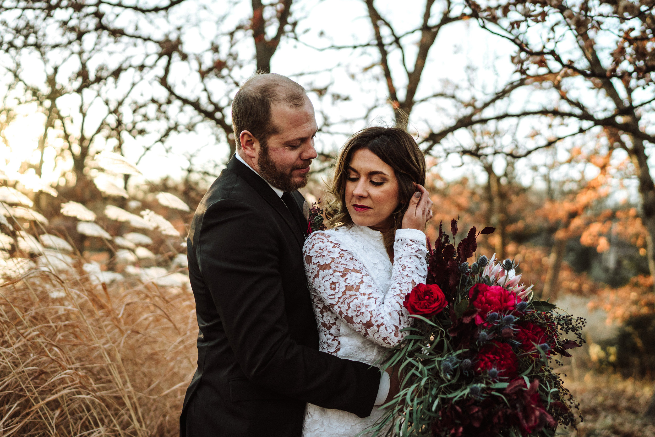 minnesota winter wedding