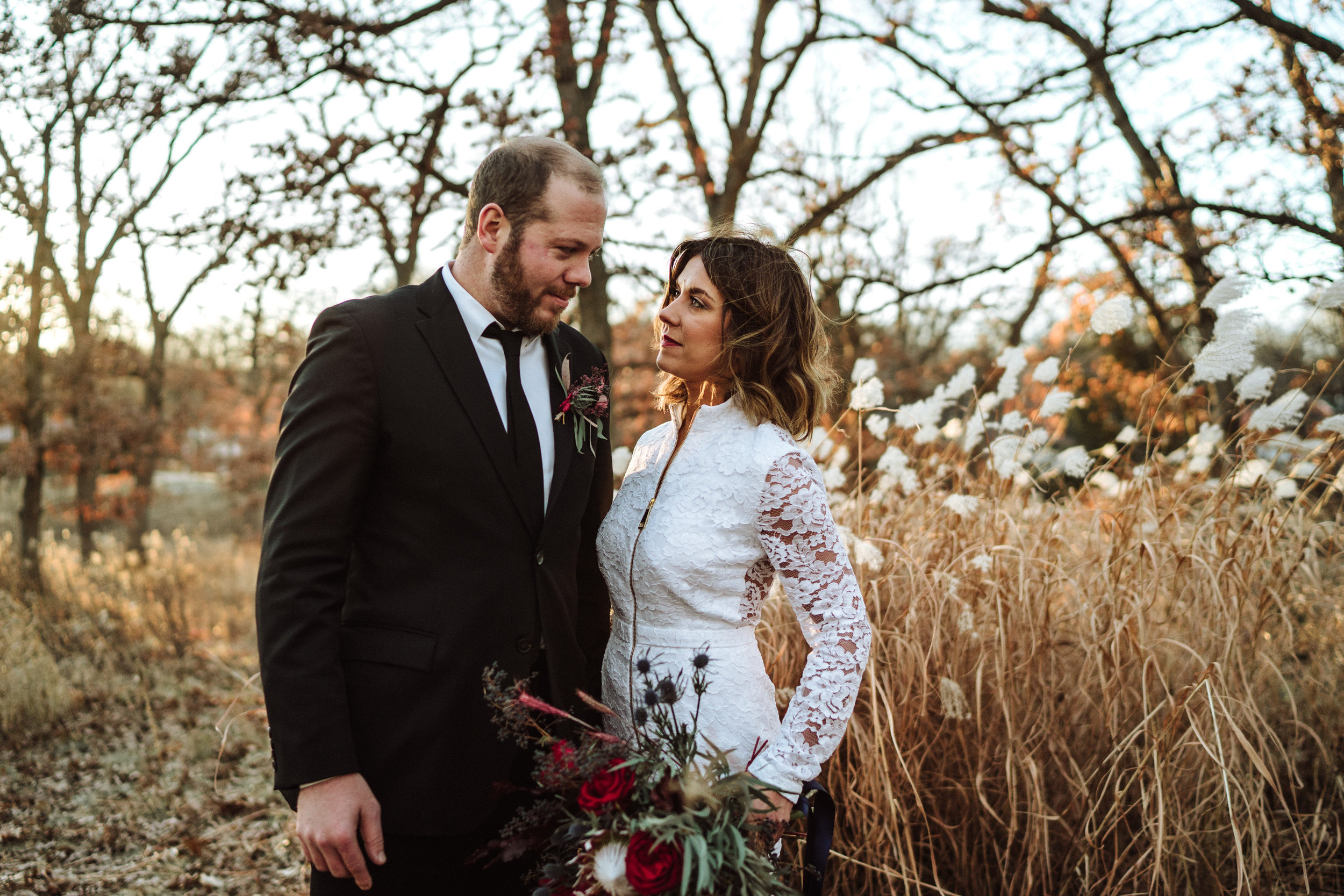 mn winter wedding