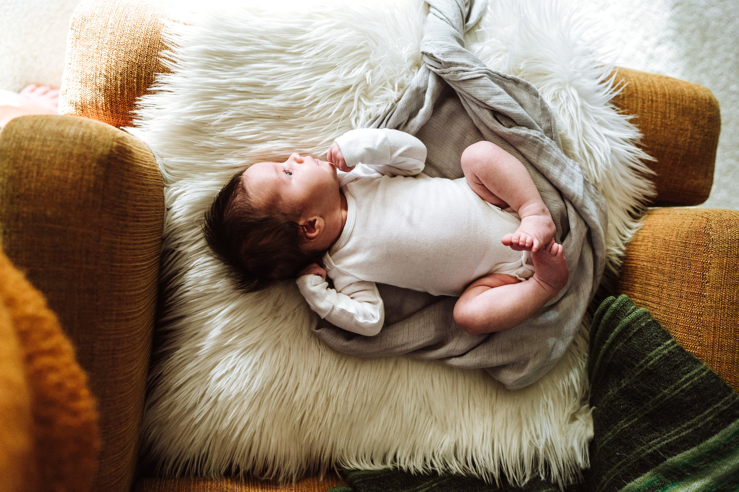 Minnesota newborn lifestyle photography