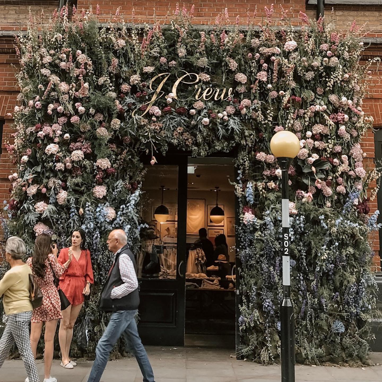 Jcrew for Chelsea Flower Show