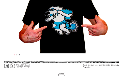 Fat Dog Clothing Website