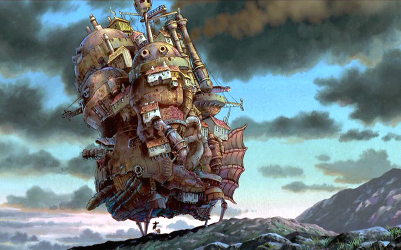Hiyao Miyazaki from the film: Howl's Moving Castle