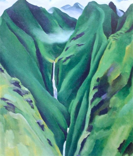 Waterfall, No 1, Loa Valley Maui