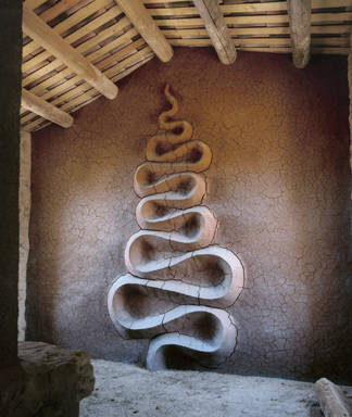 andy goldsworthy - earth snake river