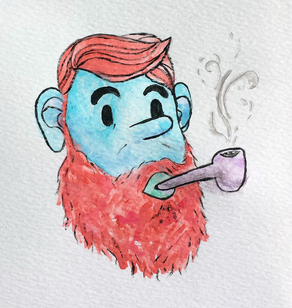 9 - Hipster Pipe