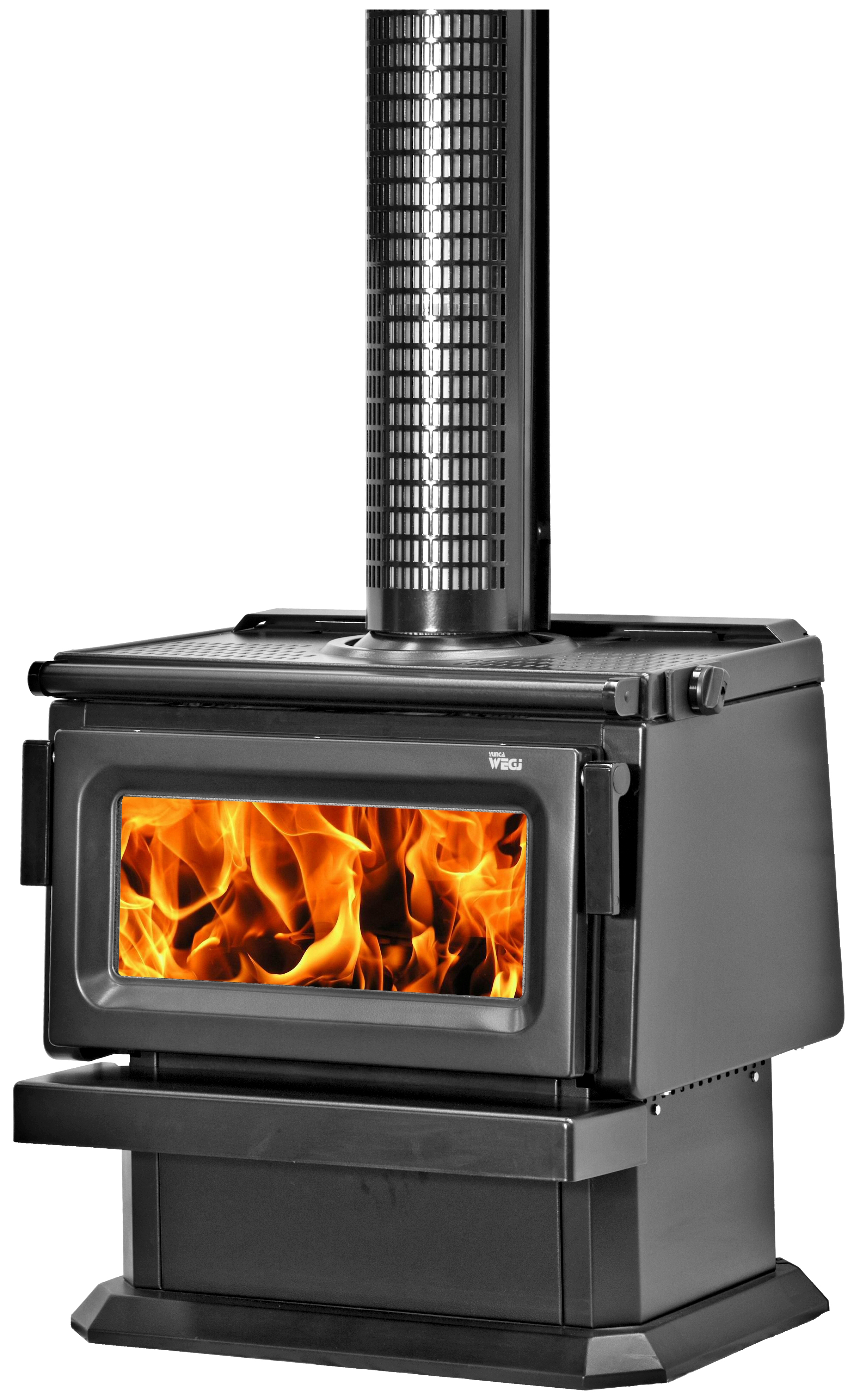 Wegj - our most powerful wood burner, pumping out the heat