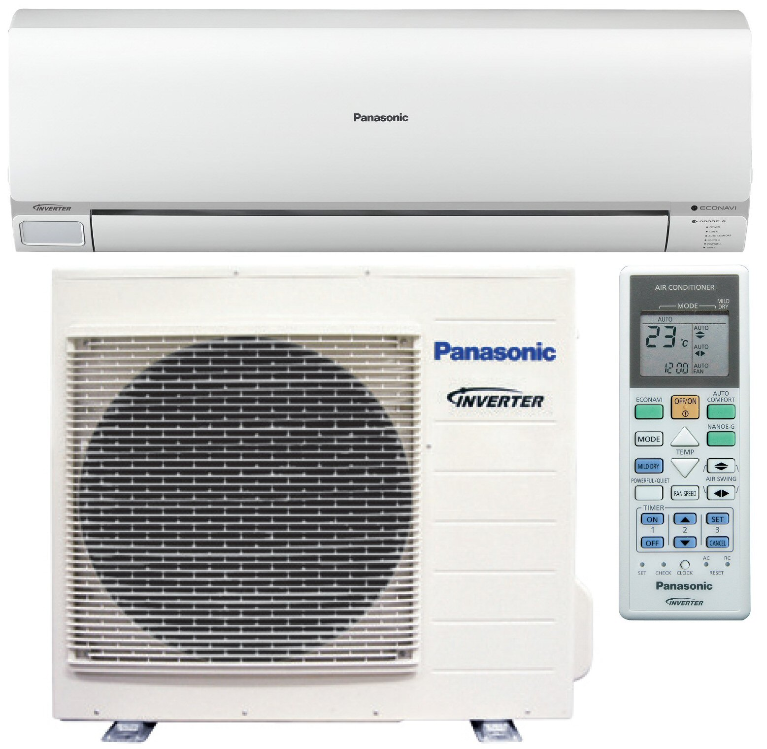 Panasonic Heat Pumps - Air Conditioners — Yunca Group