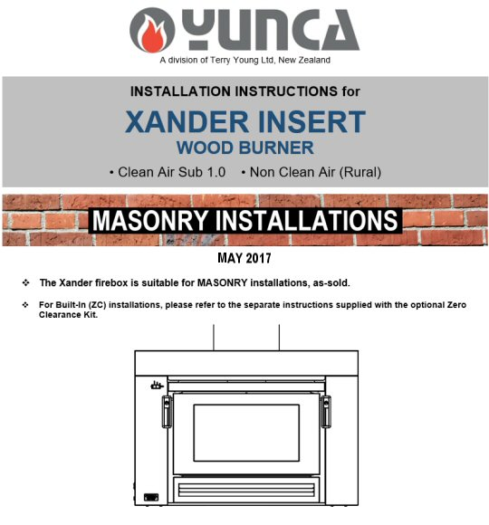Click on the image above to download and view the MASONRY installation instructions