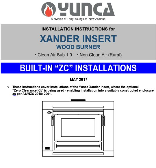 Click on the image above to download and view the BUILT-IN (ZC) installation instructions