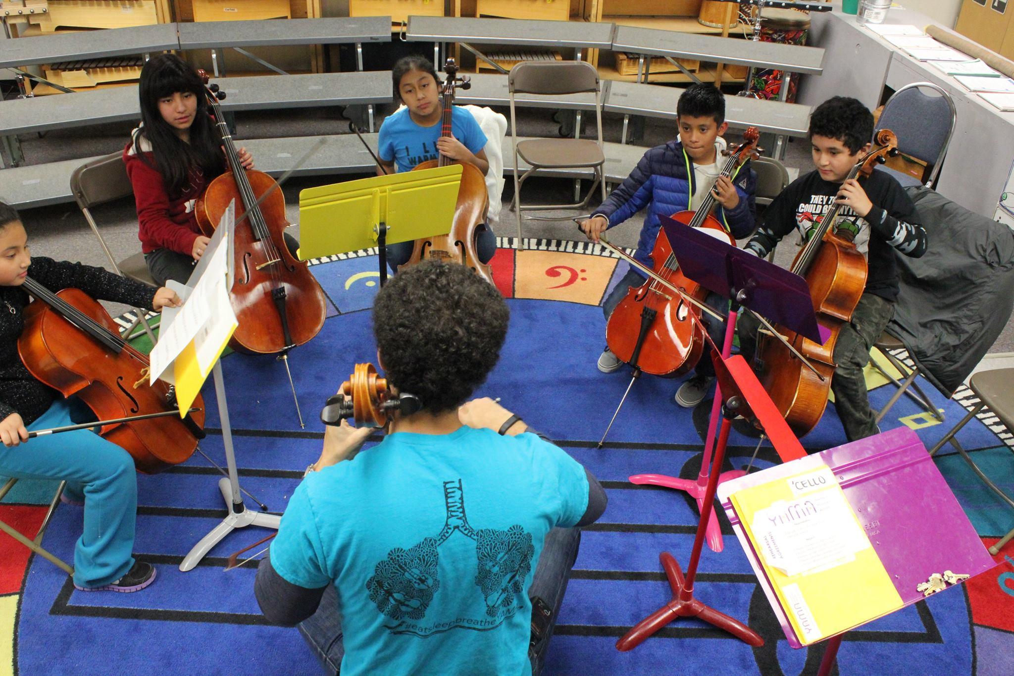 Cello Sectional