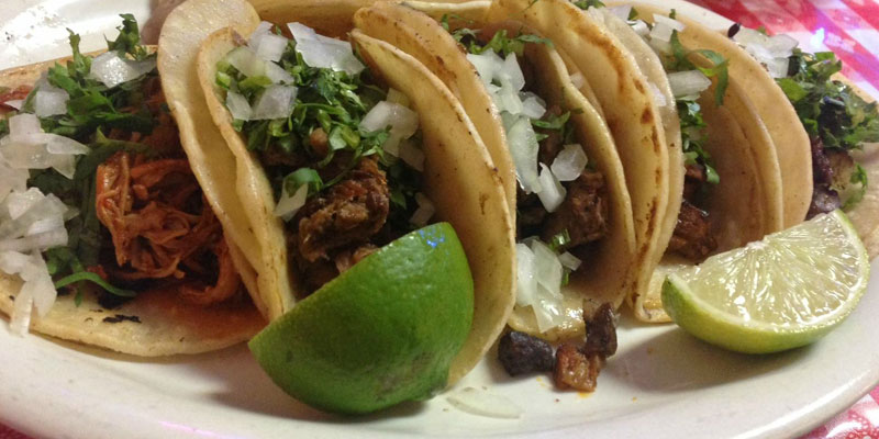 Taco Tuesday - Every Tuesday starting @ 3:00 pm.$2.00 Tacos and $3.00 Margaritas!Choose from chicken, carne asada, carnitas & pastor.