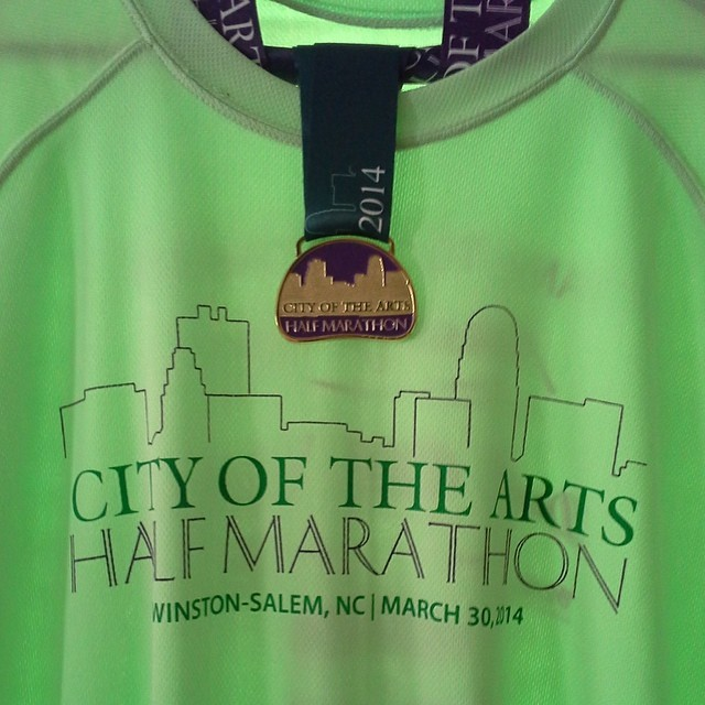 City of the Arts Half Marathon