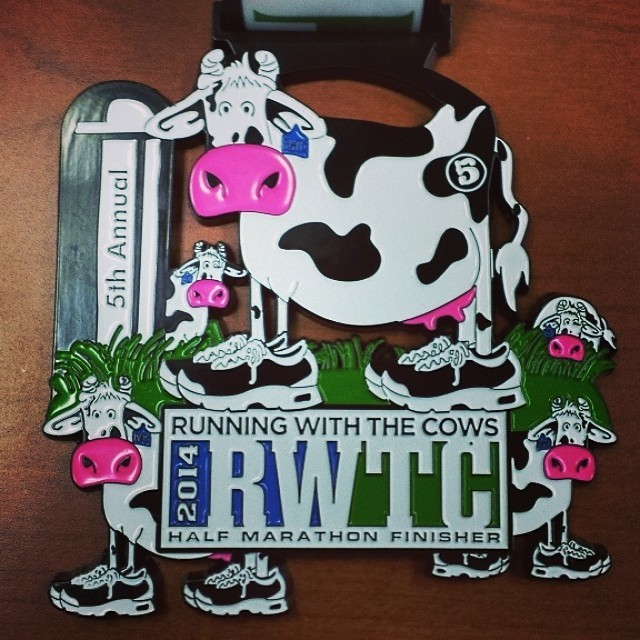 Running with the Cows Half Marathon