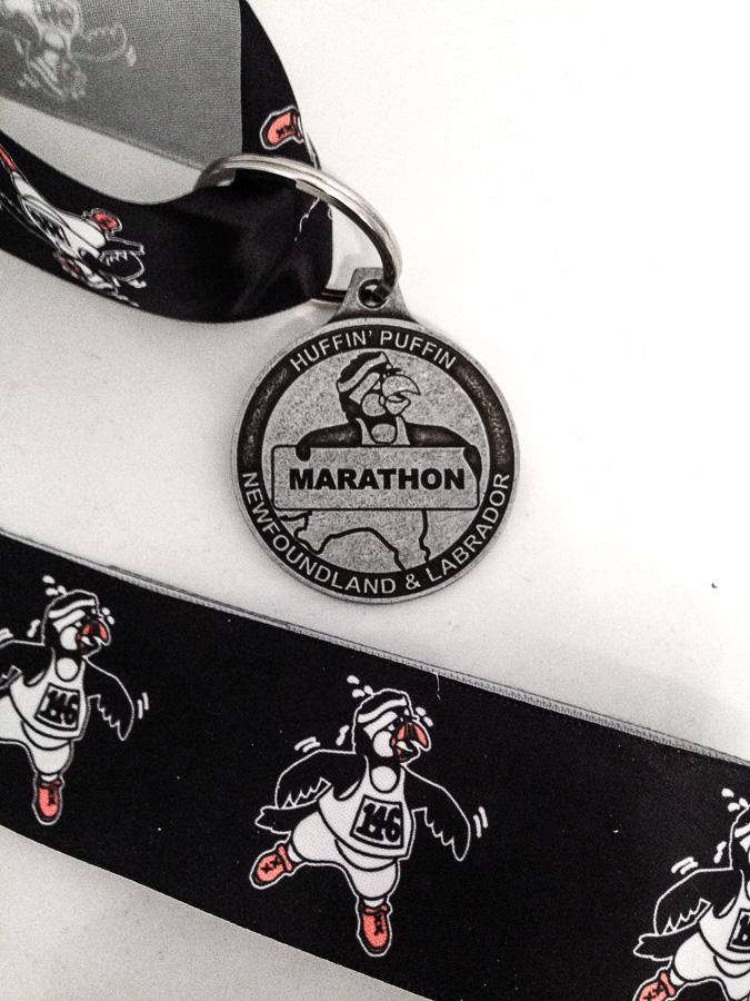 Huffin' Puffin Marathon