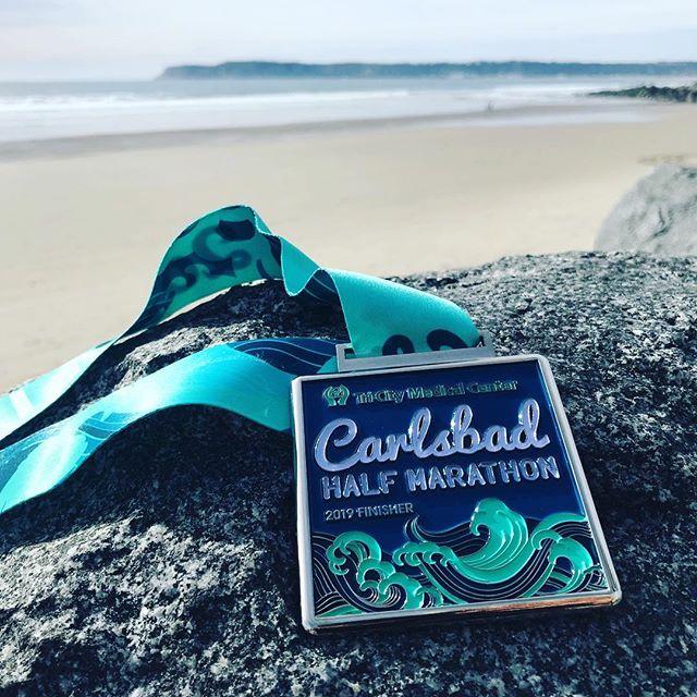 Carlsbad Half Medal
