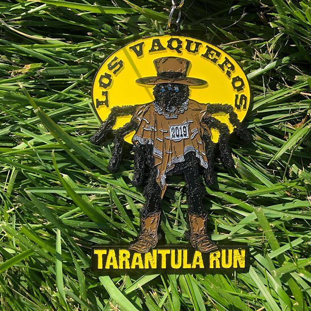 Tarantula Half Marathon medal