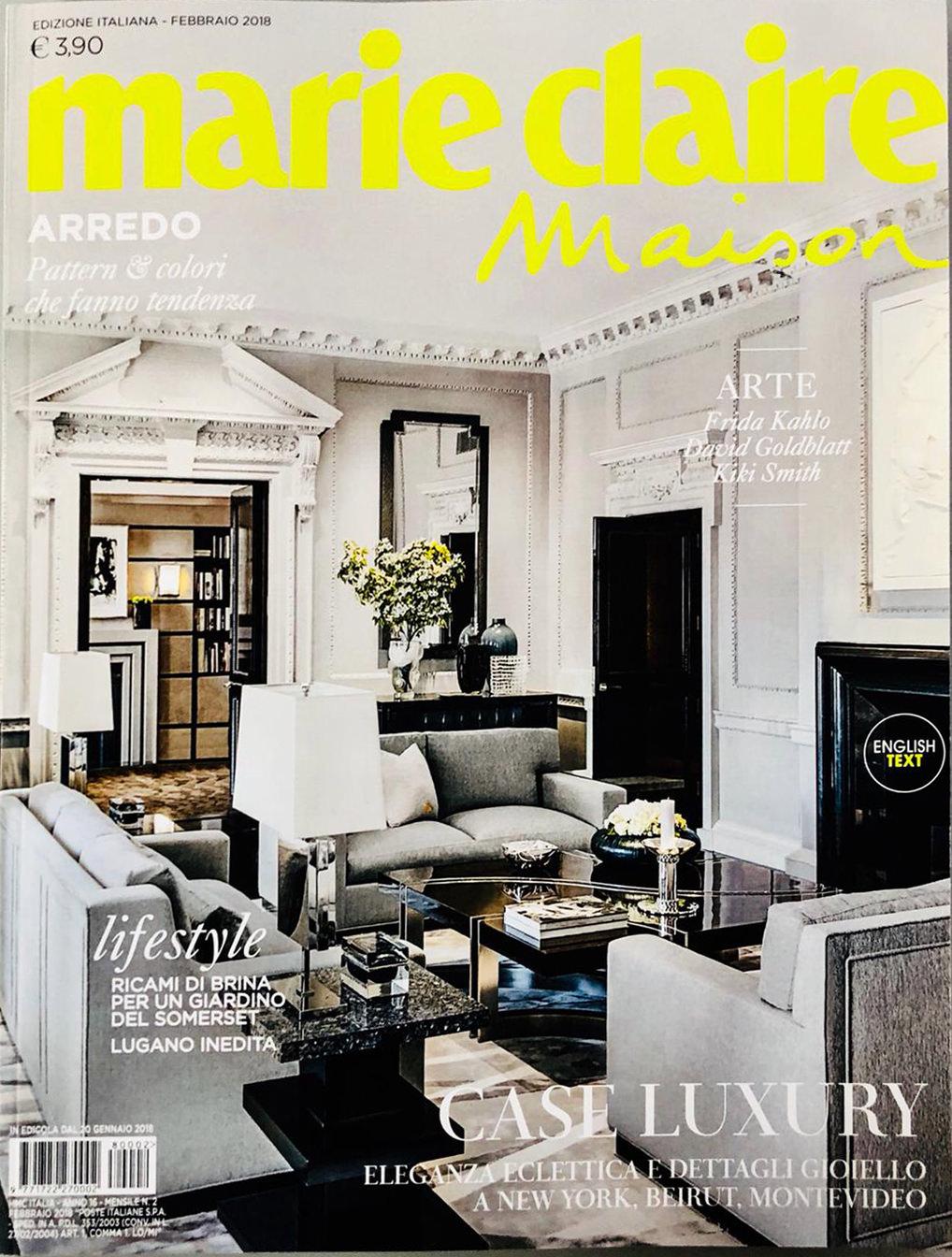 Marie Claire Maison Italy Lenka Soares
