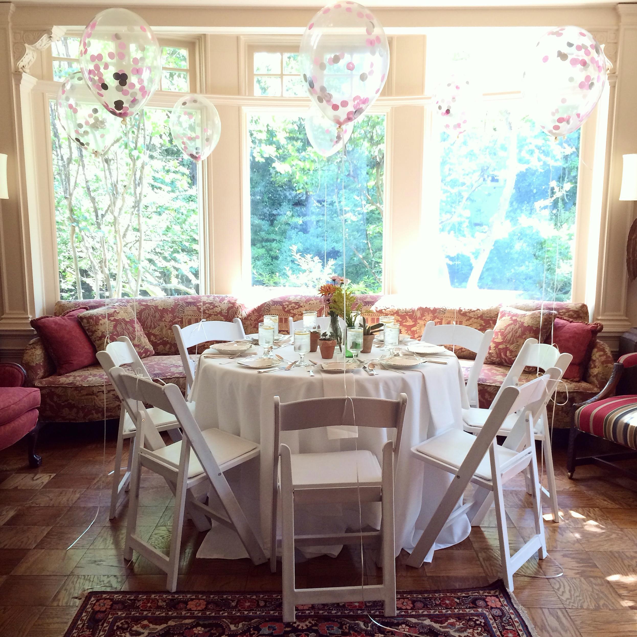 Rentals: Birch and Brass Vintage Rentals  :: Florals: Bloom2Bloom  :: Balloons: Meg-Made