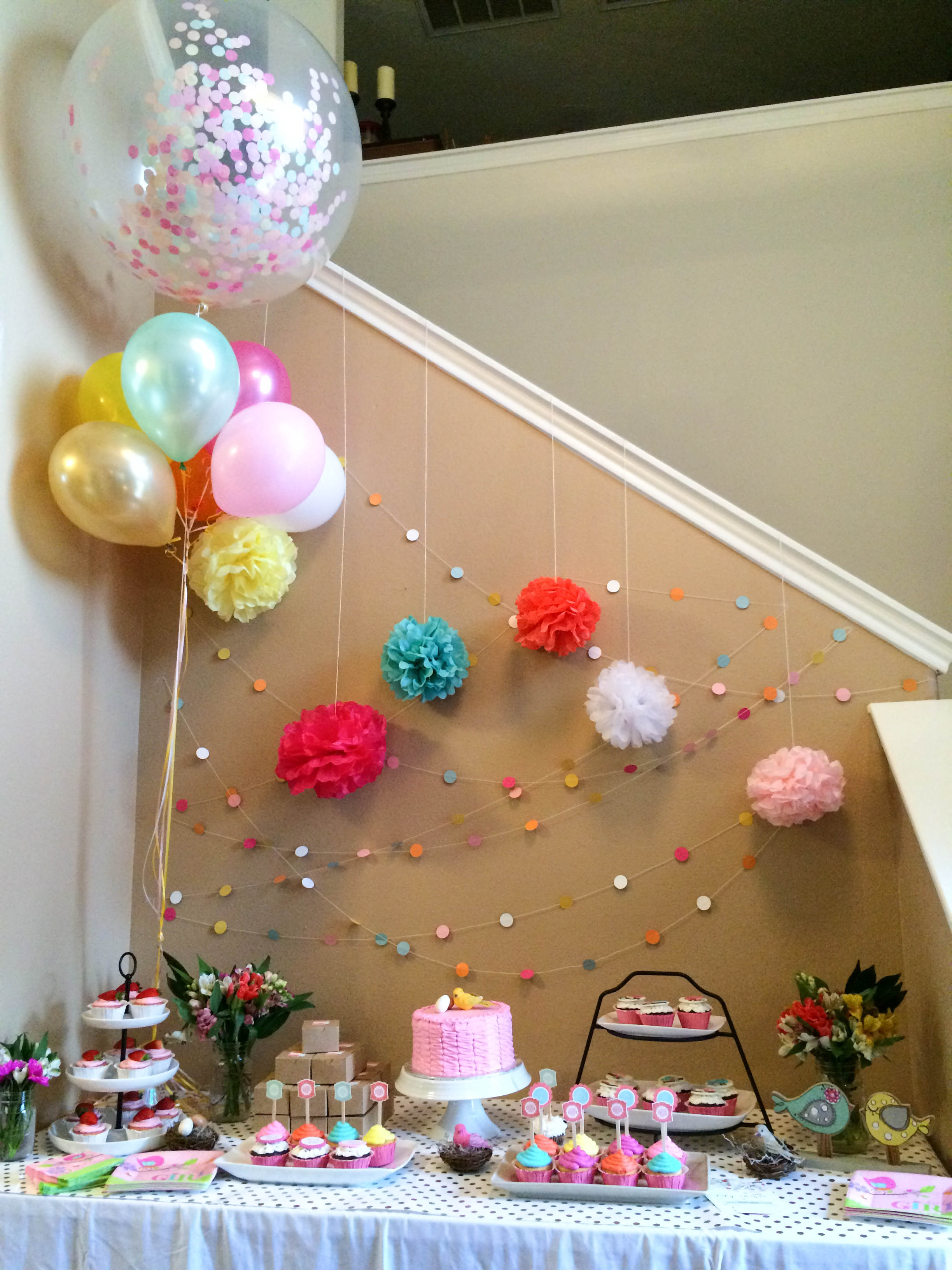 Confetti Balloon from:  OhShinyPaperCo