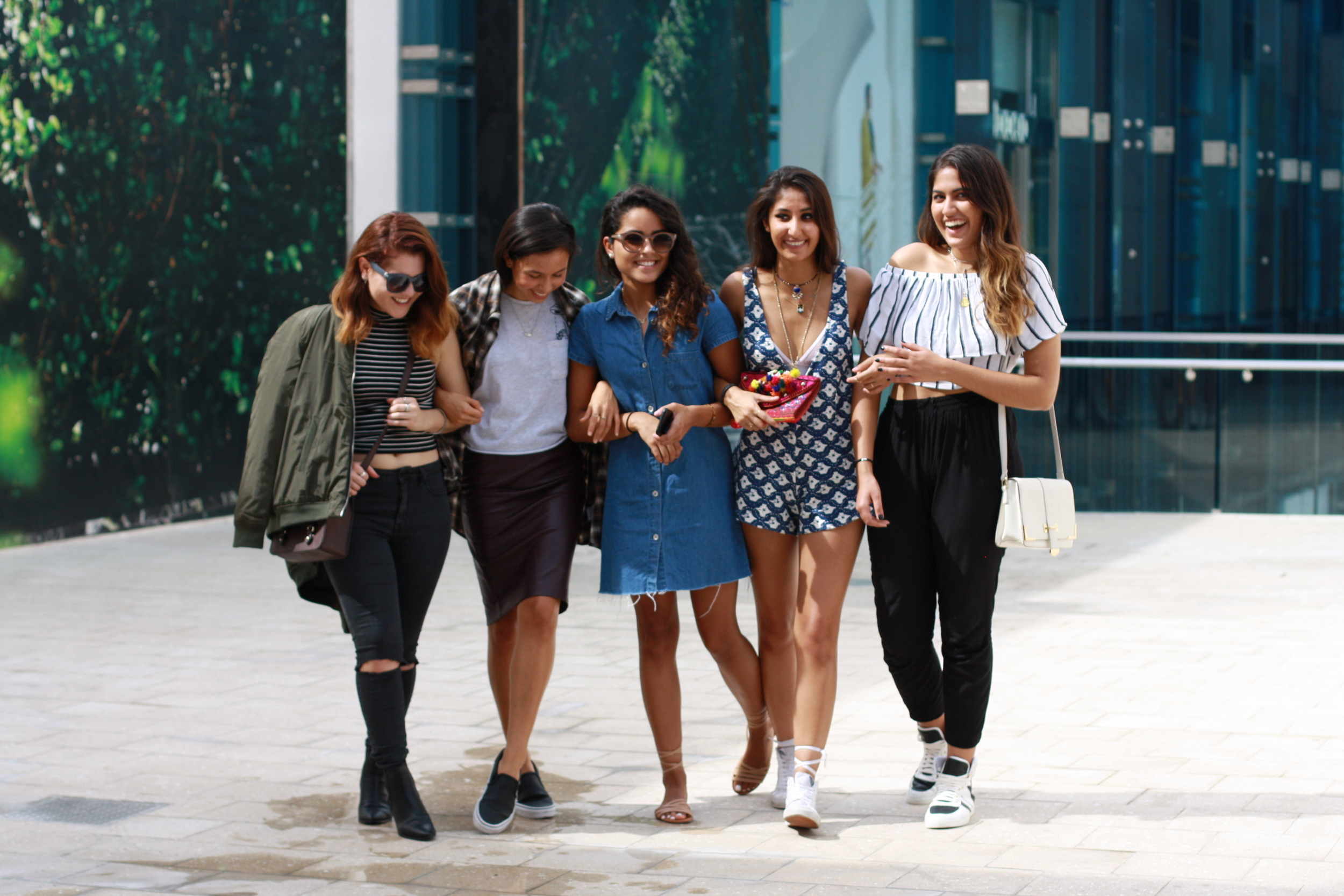 (From left to right:  Shay , Kuza,  Belle ,  Yash , Nishita)