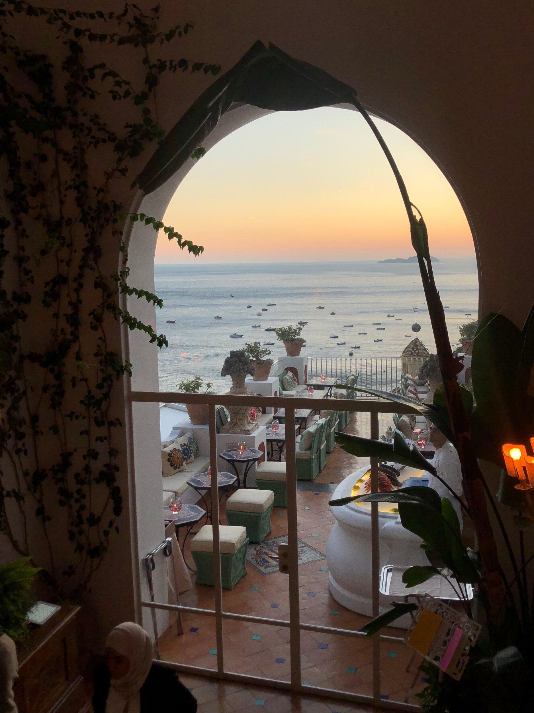 The Sirenuse in Positano