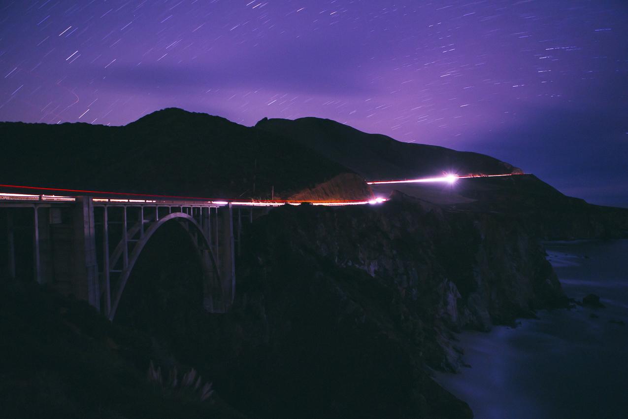 That classic Big Sur bridge at Bixby Canyon.